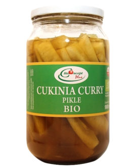 Cukinia curry -pikle- BIO 900 ml
