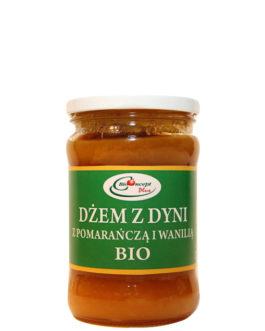 Dżem z dyni z pomarańczą i wanilią BIO 320 ml