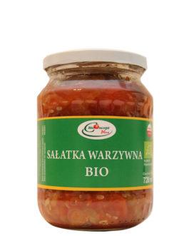 Sałatka warzywna BIO 720 ml